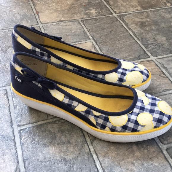 a3af3786a17 Keds Shoes - 🍋Keds Lemon Print Wedges🍋
